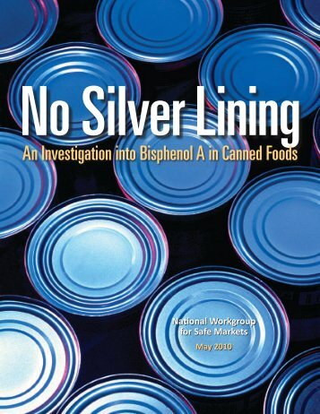 An Investigation into Bisphenol A in Canned Foods - Women's ...
