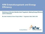 KfW Entwicklungsbank - IESR