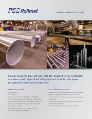 Pipe and Tube - PCC Energy Group