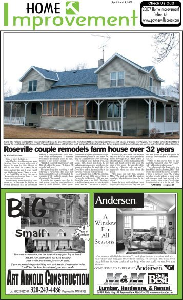 home imp page 1 (Page 1) - Paynesville Area Online