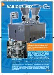 VARIOUS-MIX - AutoFoam Systems, Ltd