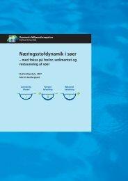 Næringsstofdynamik i søer - Danmarks Miljøundersøgelser