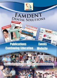 List of Famdent Exhibitors & Advertisers