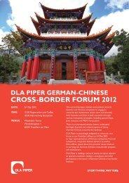 CroSS-BorDer Forum 2012 - Exportinitiative