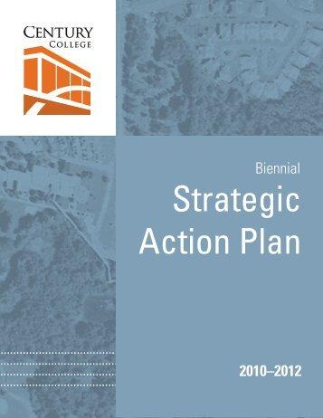 Strategic Action Plan 2010-12 - Century College