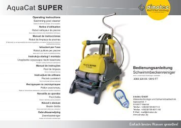 AquaCat SUPER - myRobotcenter
