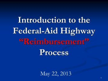 Federal Aid 101 Workshop PPT presentation - New York ...