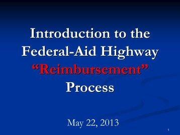 Federal Aid 101 Workshop PPT presentation - New York ...