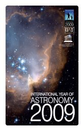 Small PDF - International Year of Astronomy 2009