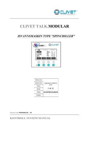 CLIVET TALK.MODULAR