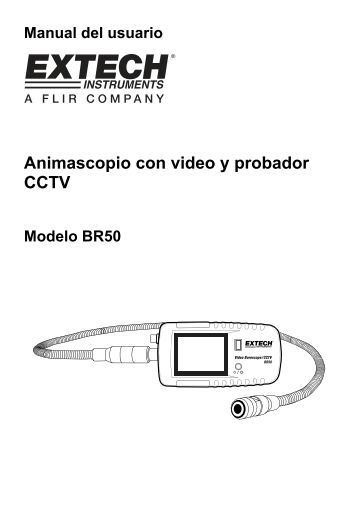 Animascopio con video y probador CCTV - Extech Instruments