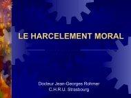 LE HARCELEMENT MORAL A lire : - Placardisés. Des ... - ammppu