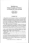 global alliances in tourism and hospitality management 0789008181 - Page 6