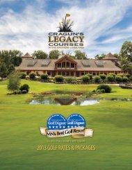 2013 Golf Brochure - Cragun's Resort on Gull Lake