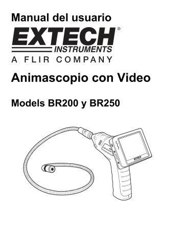 Animascopio con Video - Extech Instruments