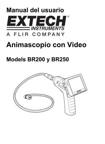 Animascopio con Video - Extech Instruments