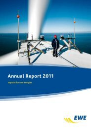 Annual Report 2011 - EWE AG