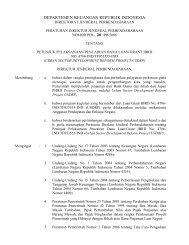departemen keuangan republik indonesia - Ditjen Cipta Karya