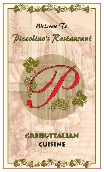 Piccolino's Restaurant Piccolino's Restaurant