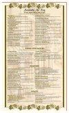 Piccolino's Restaurant Piccolino's Restaurant - Page 4