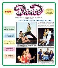 Ed. 168 - Nov/2009 - Agenda da Dança de Salão Brasileira