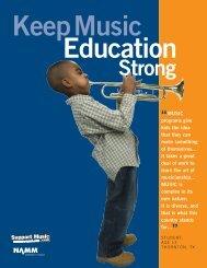 Keep Music Education Strong - Kiddo!