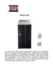 files/UPO 11-3AX.pdf - La Casa de la UPS