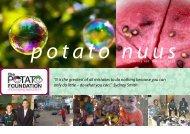 Oktober 2011 Nuusbrief - The Potato Foundation