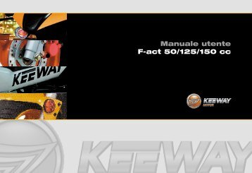 Manuale utente F-act 50/125/150 cc