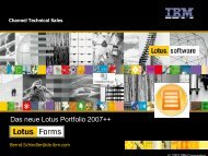 Lotus Forms - EntwicklerCamp