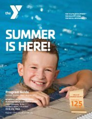 NEW! 2012 Summer Program Guide - YMCA of Orange County
