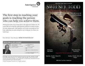Sweeney Todd - Danville Light Opera