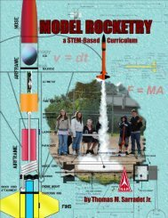 a STEM based model rocketry curriculum - National Association of ...