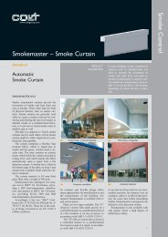 Smoke Control Smokemaster – Smoke Curtain - Colt.sk