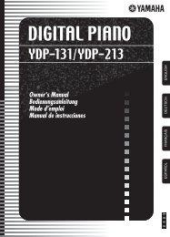 DIGITAL PIANO - MIDI Manuals