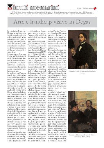 293 Arte e handicap visivo in Degas - Fondazione Internazionale ...