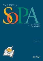 Catálogo Sopa de Libros - Anaya Infantil y Juvenil