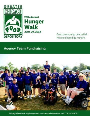 Hunger Walk - Greater Chicago Food Depository