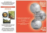 Brochure and Registration Form - St Josephs Spirituality Centre ...