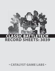 Battletech Record Sheets 3039 Pdf