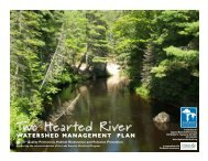 Two Hearted River Watershed Management Plan - Superior ...