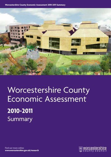 Worcestershire County Economic Assessment