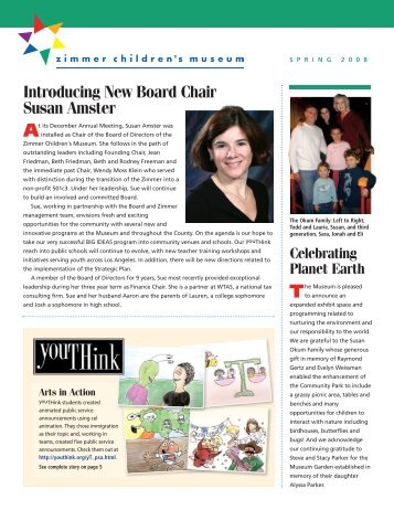 Introducing New Board Chair Susan Amster - Zimmer Children's ...