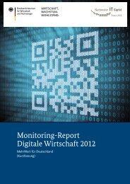 Monitoring-Report Digitale Wirtschaft 2012 - IT-Gipfel