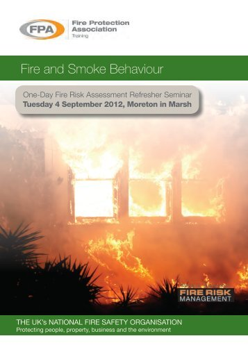 Fire and Smoke Behaviour, Tuesday 4 September 2012
