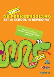 ZET JE SCHOOL IN BEWEGING! - Verkeersslang