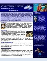 September-2011 - Coast Volleyball Club