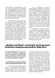 """""""Medizin und Macht"""" am Beispiel des Programms ... - Fit mit System!"""