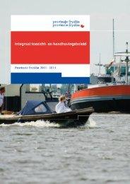 Integraal toezicht- en handhavingsbeleidbeleid.pdf - Provincie Fryslân