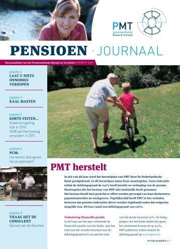 pensioen • journaal - Pensioenfonds Metaal en Techniek